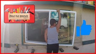 Como Instalar o Cambiar una Ventana - window installation replacement