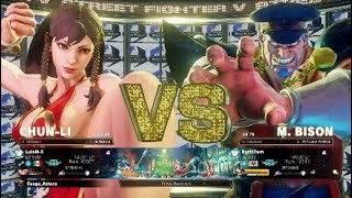 (LuisM-X) Chun Li vs (DarthTarn) M.Bison 3 sets