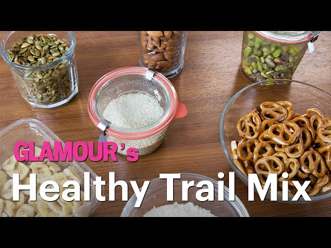 A Healthy Trail Mix Recipe For Your Next Road Trip Treat Yourself