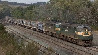 EMD and GE Diesel Power on the North East: Australian Trains