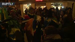 Parisians protest outside Libyan Embassy against slave auctions