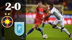 Rezumat: FCSB - U Craiova 2-0 I Ros-albastrii incheie anul pe podium