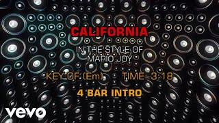 Mario Joy - California (Karaoke)