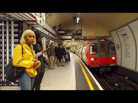 ⁴ᴷ⁶⁰ London Underground To Waterloo Incl. South Bank Walking Tour