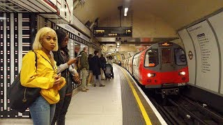 ⁴ᴷ⁶⁰ London Underground to Waterloo incl. South Bank Walking Tour