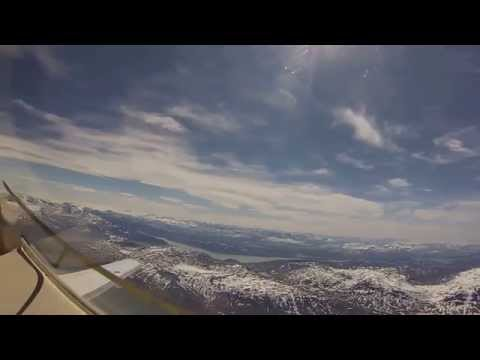 Narsarsuaq, Greenland Departure North Atlantic Ferry Flight in a Premier