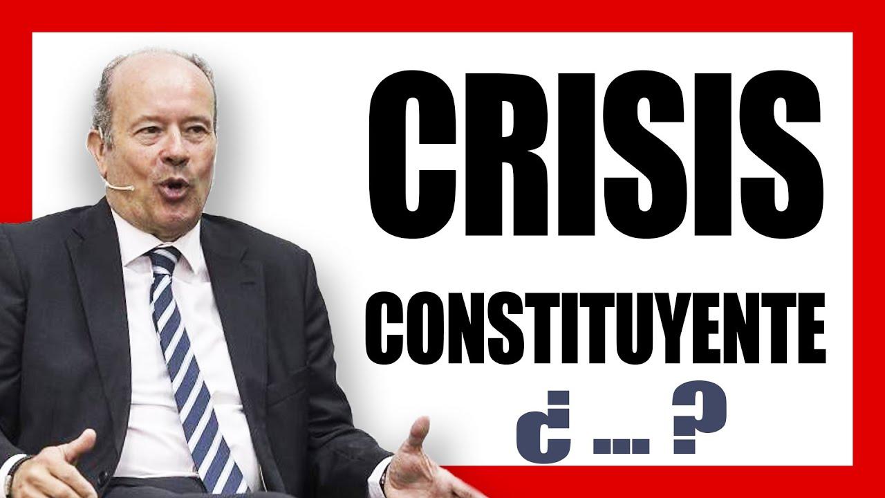 ¿Por qué el MINISTRO DE JUSTICIA habla de CRISIS CONSTITUYENTE ?