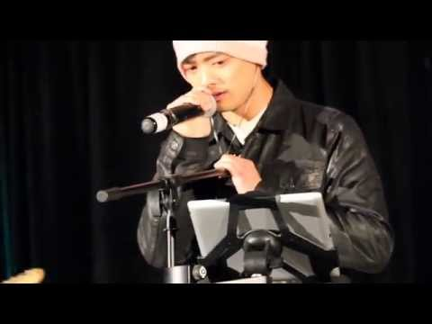 TorCon '14 Cabaret  Osric Chau sings Creep, gets emotional