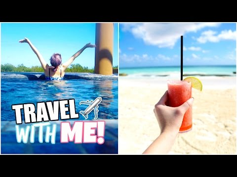 I WENT ON A FREE TRIP TO MEXICO! | Travel With Me 🌴