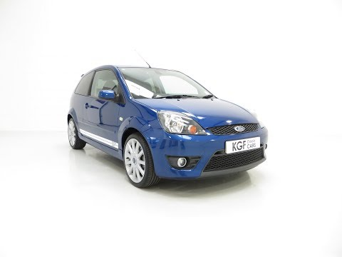 A Pristine Ford Fiesta ST150 with 27,809 Miles and Full Ford History - SOLD!
