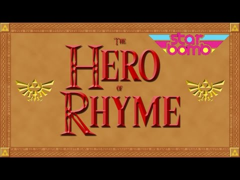 The Hero of Rhyme Typography - Starbomb Music Video