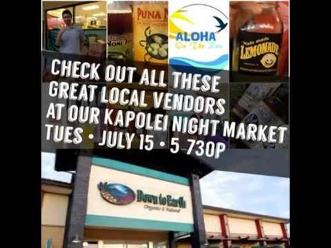 Kapolei Night Market Debut! • July 15th