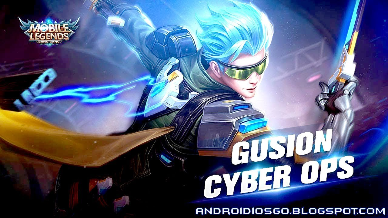Charming Mobile Legends: New Skin   Gusion Cyber Ops Gameplay Android/iOS