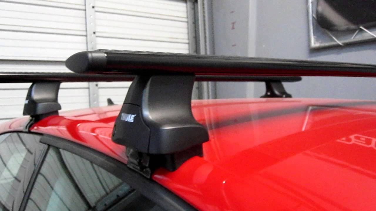 Volkswagen Golf 3dr 2010 2013 With Thule 480r Traverse