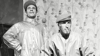 Norman Wisdom & Bruce Forsyth talk about their Palladium Special
