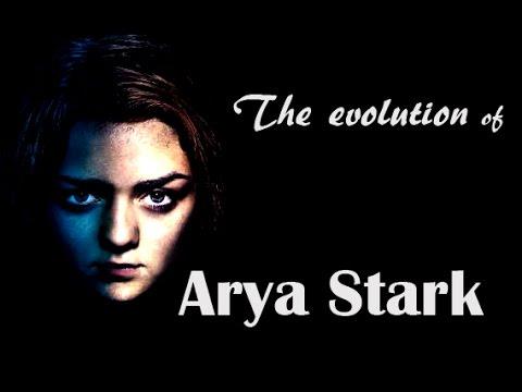 The evolution of Arya Stark - some kind of monster