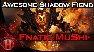 Fnatic.MuShi- Awesome Shadow Fiend Gameplay vs. Alliance Dota 2