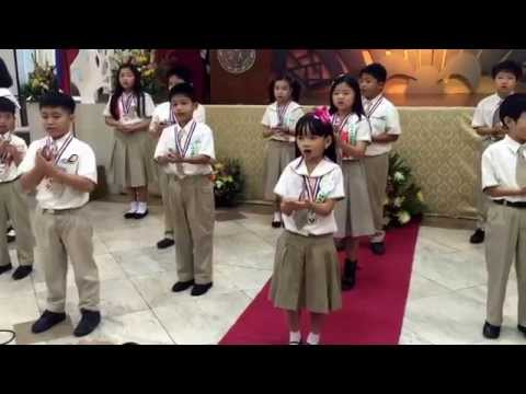 Glowing Inside Finale Song ( Recognition Day 2014-2015@ ALLS)