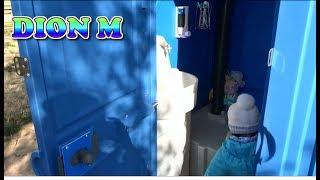 Обзор Биотуалет Люкс для дачного участка туалет Зеркало раковина Держатель для бумаги и жидкого мыла(, 2017-06-14T11:39:43.000Z)