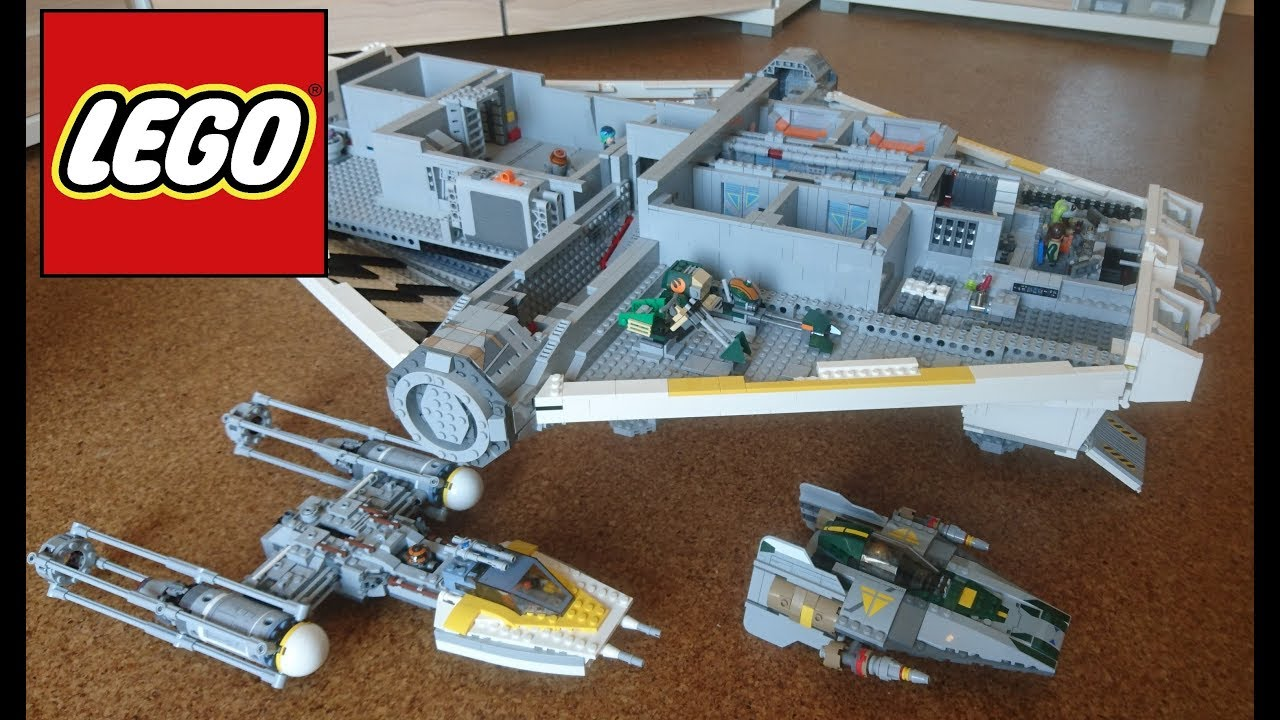 Lego The Ghost Moc First Half Review Star Wars Moc
