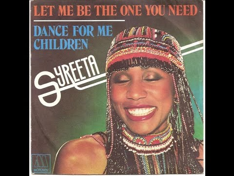 SYREETA   Let Me Be The One You Need    R&B