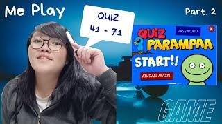 QUIZ PARAMPAA level 41 71