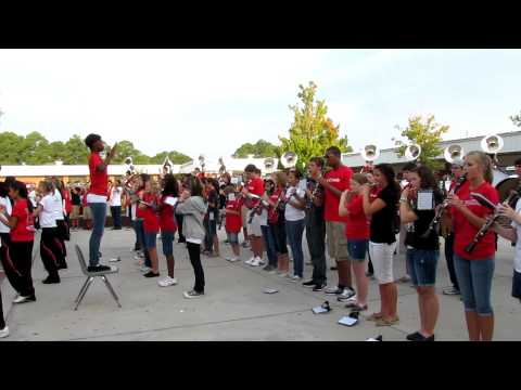 2011-12  first game day Fight Song