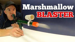 PVC Marshmallow Blaster (A Preview Montage)
