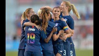USA vs China 2018 International Friendly Women's highlights ● HD 