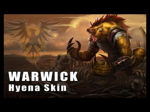 League of Legends: Hyena Warwick Skin Artwork