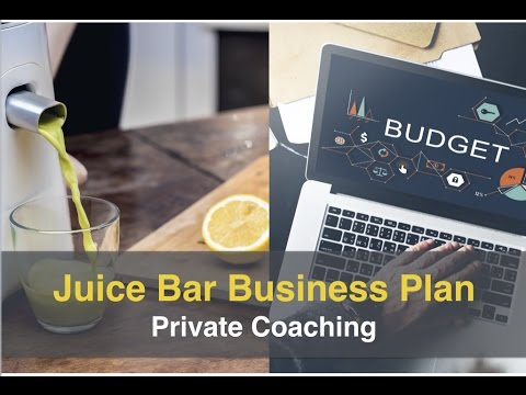 Juice Bar Business Plan Mentorship Coaching Group