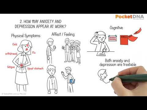 How to manage anxiety and depression at work