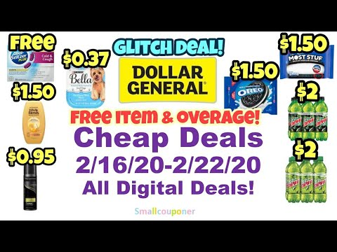 Dollar General Cheap Deals 2/16/20-2/22/20! All Digital Deals!