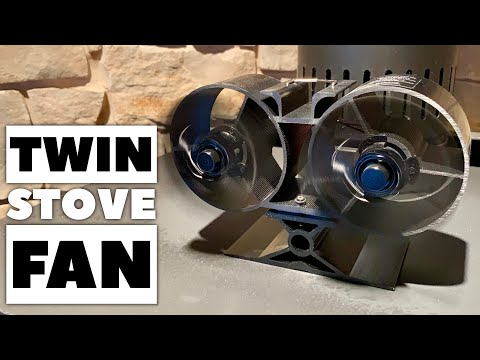 Twin Blade Heat Powered Wood Burning Stove Fan by Sonyabecca Review