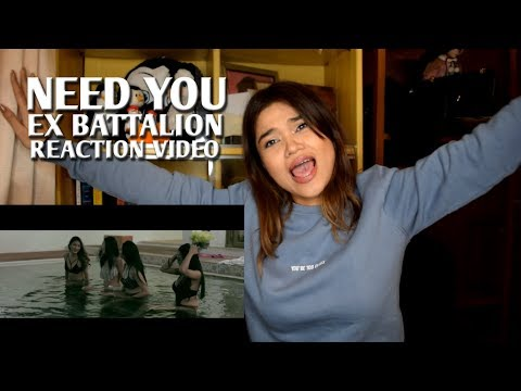 NEED YOU By Ex Battalion | REACTION VIDEO!!