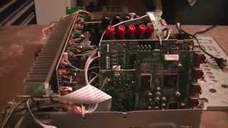 Pioneer VSX-820-K Stereo Receiver Diagnosis & Repair - Kitchen Table Electronics Repair