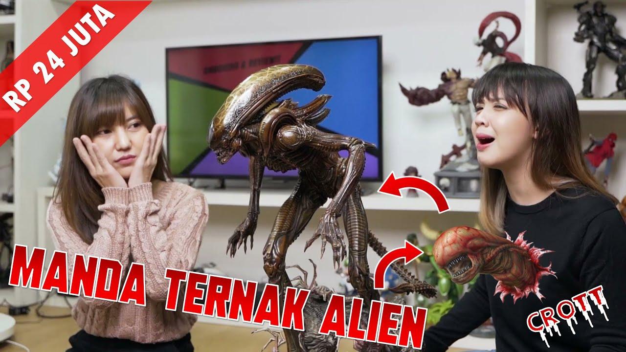 MANDA TERNAK ALIEN!! UNBOXING XENOMORPH ALIEN HIVE WARIOR (BROWN VARIANT) DARI XM STUDIOS!!