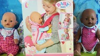 Рюкзак-кенгуру для куклы Беби бон Baby Born Doll  Zapf