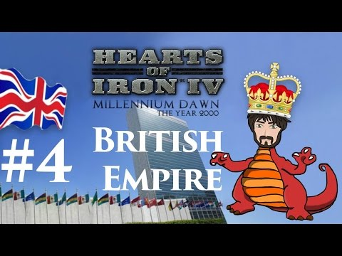 Hearts of Iron 4: Millennium Dawn - Restore the British Empire #4 | Charles Rules!