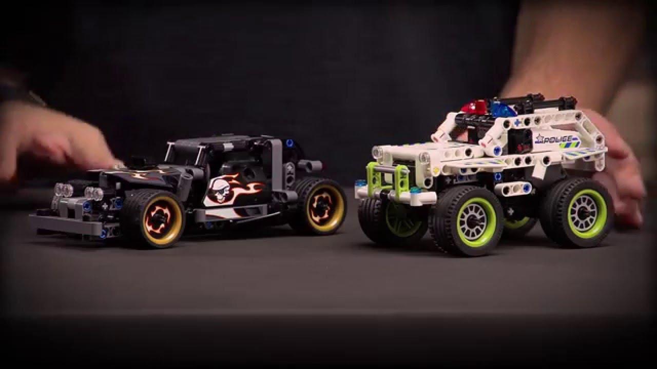 Getaway Racer Police Interceptor Lego Technic Designer Video