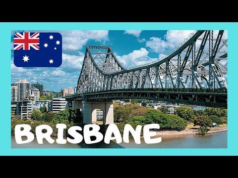 Crossing the famous Story Bridge, BRISBANE (Australia)
