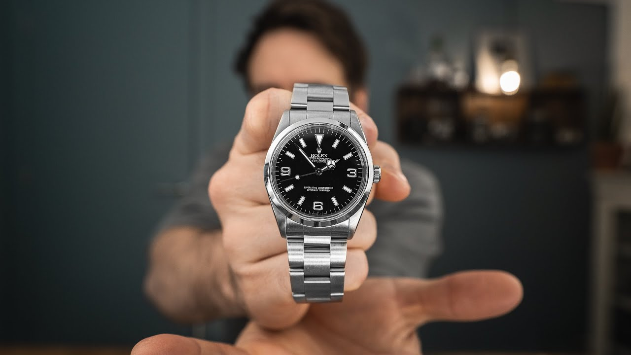 Download NEW 2021 Rolex Explorer 36mm - Ref 124270
