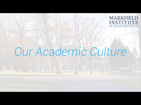 Markfield Institute  Our academic culture