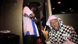 Tyler The Creator at Fox Theater in Pomona, CA. (Backstage Interview)