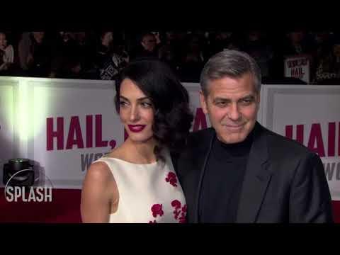 George Clooney danced with Meghan Markle at royal wedding | Daily Celebrity News | Splash TV