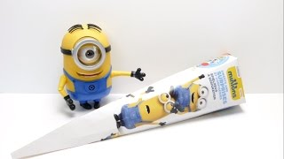 Minions School Cone with Surprise Stickers