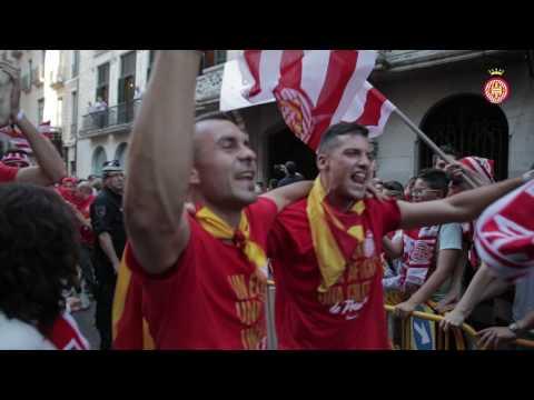 Rua i celebració de l'ascens a Primera Divisió - #HISTÒR1A