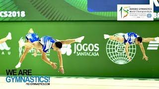 2018 Aerobic Worlds, Guimaraes (POR) - Highlights GROUPS - We Are Gymnastics !