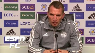 Brendan Rodgers laments Leicester City's lack of quality in the final third | Premier League