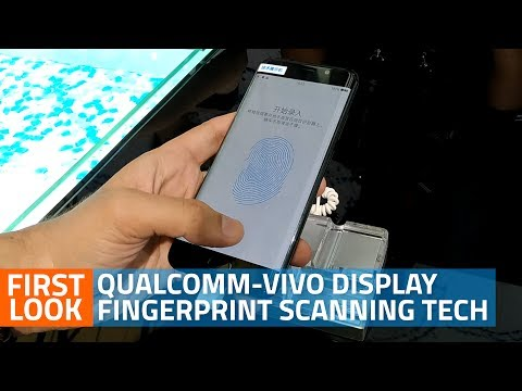 Qualcomm-Vivo Under-Display Fingerprint Sensor: First Look